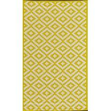 Außenteppich Krista in Gelb