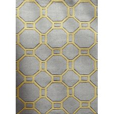 Natasha Hand-Tufted Grey Area Rug