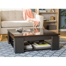 Fabrizio Coffee Table with Magazine Rack