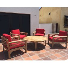 Monterey 5 Piece Deep Seating Group with Cushion