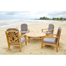 Rosemont 5 Piece Deep Seating Group with Cushion