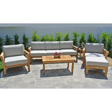 Monterey 6 Piece Deep Seating Group with Cushion