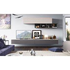 5-tlg. Wohnzimmermöbel Set Espace