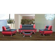 Austin 4 Piece Living Room Set