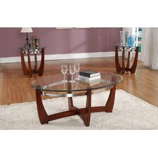Cheryl 3 Piece Coffee Table Set