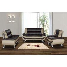 Austin 3 Piece Living Room Set