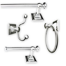 Madison 4 Piece Bathroom Hardware Set