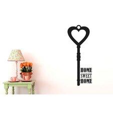 Home Sweet Home House Key Wall Sticker
