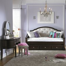 girls glam panel customizable bedroom set