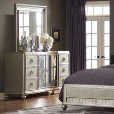 Platinum 6 Drawer Dresser
