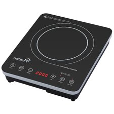 "12.6"" Electric Induction Cooktop with 1 Burner"