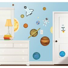 In Outer Space Super Jumbo Appliqué Wall Decal