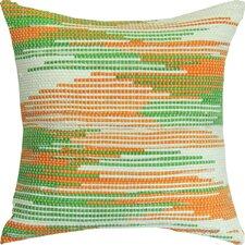 Spun Threads with a Soul® Saffron Beauty Handcrafted Throw Pillow