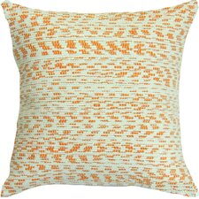 Spun Threads with a Soul® Creamsicle Handcrafted Throw Pillow