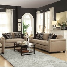 Sofa and Loveseat Set