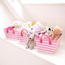 Stripe Toy Box (Set of 3)