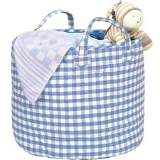 Gingham Giant Toy Box