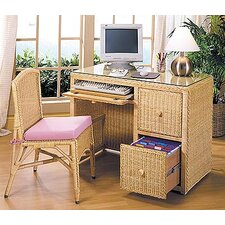 2-Piece Standard Desk Office Suite