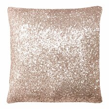 Blush Glitz Throw Pillow