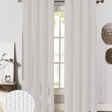 Herringbone Curtain Panel (Set of 2)