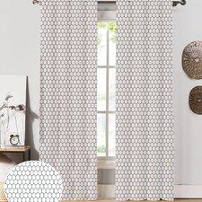 Mosaic Curtain Panel (Set of 2)