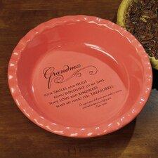 Grandma Deep Dish Pie Plate