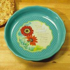 Woman of Faith Pie Plate