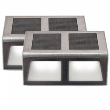 Sunstep Solar LED Step Lighting (Set of 2)