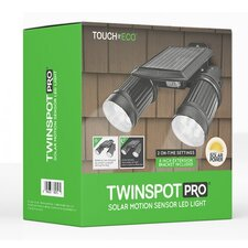 Twinspot Pro Solar Dual Head Spot Light