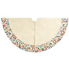 Handmade Confetti Pattern Tree Skirt