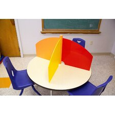 Plastic Table Top Carrel