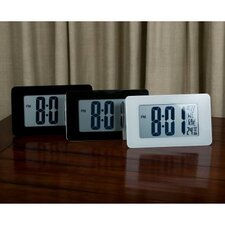 Atomic Self-Setting/Adjusting Wall Clock w/ Stand & 8 Timezones - Batteries