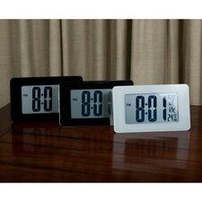 Atomic Self-Setting/Adjusting Wall Clock w/ Stand & 8 Timezones - Batteries