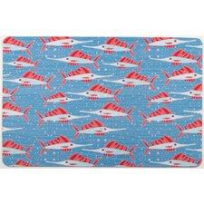 Sailfish School Floor Mat