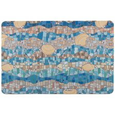 Shell Mosaic Floor Mat
