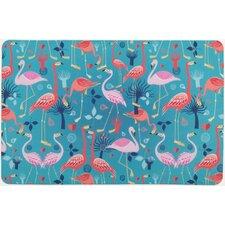 Flamingo Love Floor Mat