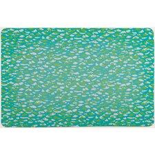 Fish Scales Floor Mat