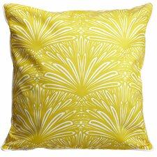 Art Deco Goldenrod Throw Pillow