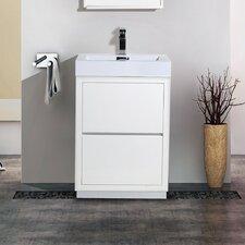 "Bliss 24"" Single Free Standing Modern Bathroom Vanity Set"