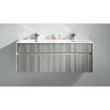 "Tona Fitto 48"" Double Sink Modern Bathroom Vanity Set"