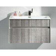 "Tona Fitto 24"" Single Modern Bathroom Vanity Set"