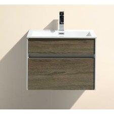 "Tona Fitto 24"" Single Modern Bathroom Vanity Set"