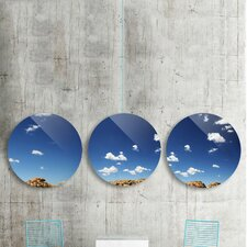 'Open Spaces' by Midnight Bantam 3 Piece Graphic Art on Plaque Set
