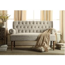 Hermosa Tufted Upholstered Settee