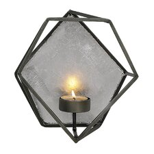 Geometric Metal Sconce