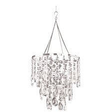 Diamond Ensemble 1 Light Crystal Chandelier