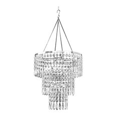 Tiara 1 Light Crystal Chandelier