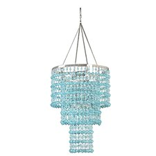 Triple Crown 1 Light Crystal Chandelier