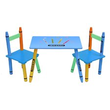 Bebe Style Children's 3 Piece Table and Chair Set