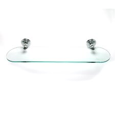 Simple Serenity Glass Shelf